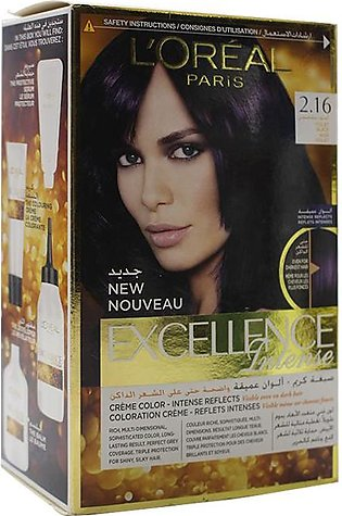Loreal Excellance Hair Color Violet Black 2.16