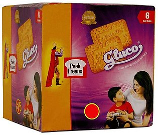 Peek Freans Gluco Biscuits H/R 6's Box