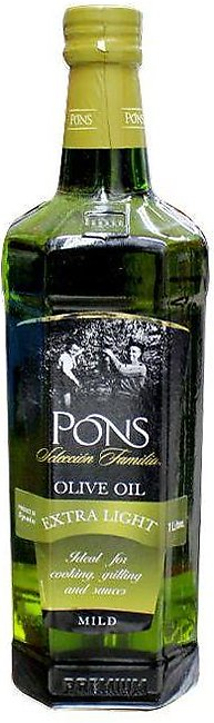 Pons Olive Oil Extra Light 1ltr Btl