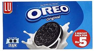 LU Biscuits T/Pack 24s Oreo Twin Pack
