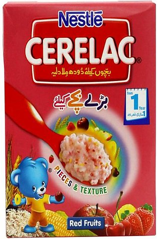 Nestle Cerelac Cereal Red Fruits 175g