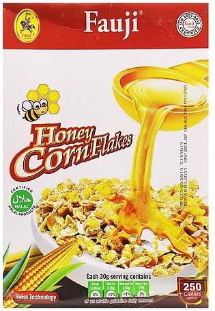 Fauji Honey Corn Flakes 250g