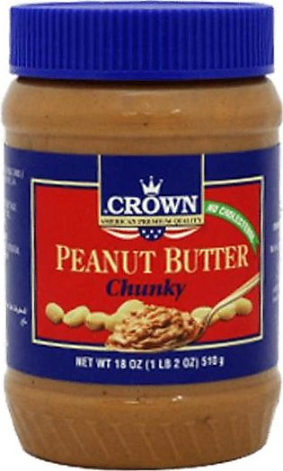 Crown Peanut Butter 510g Chunky