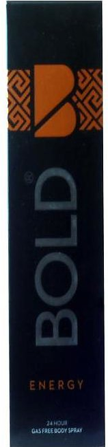 Bold Body Spray 120ml Energy
