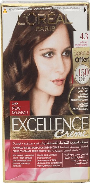 Loreal Hair Color Excellence 4.3