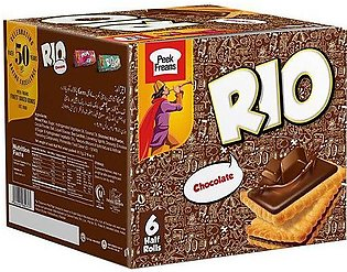 Peek Freans Rio Chocolate Biscuits H/R 6's Box