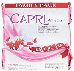 Capri Soap Rose Petal & Milk Protein 3x140g