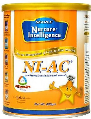 Searle NI-AC Baby Milk Powder 400g Tin