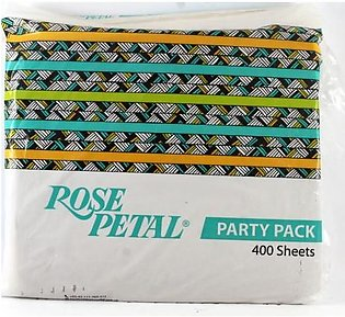 Rose Petal Party Pack White Tissue 300 sheets