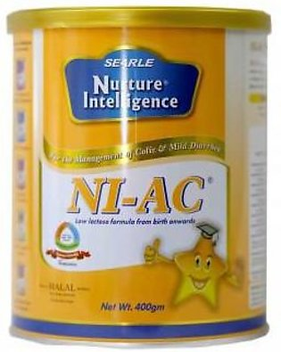 Searle NI-AC Baby Milk Powder Tin 400gm
