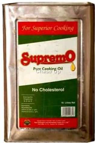Soya Supreme Cooking Oil Tin 16ltr