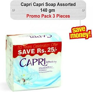Capri Soap Assorted Promo Pack 140gm 3pcs