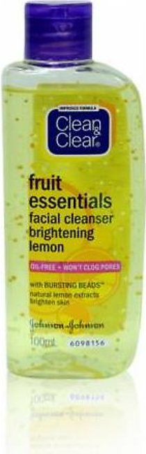 Clean & Clear Lemon Morning Energy Face Wash 100ml
