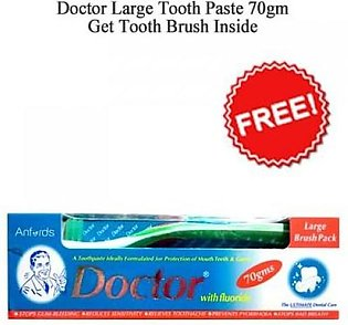 Doctor Large Tooth Paste Brush Pack 70gm