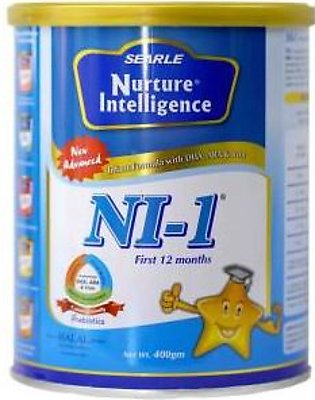 Searle NI-1 Baby Milk Powder Tin 400gm