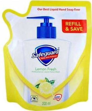 Safeguard Lemon Fresh Hand Wash Pouch 200ml