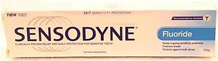 Sensodyne Fluoride Tooth Paste 100gm (gsk)