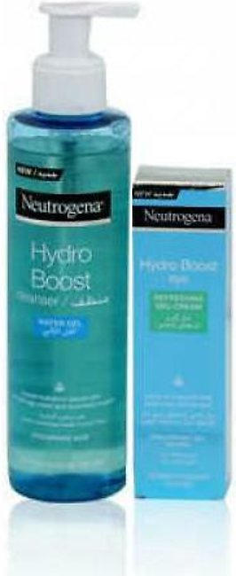 Neutrogena Hydro Boost Water Gel Facial Cleanser 200ml