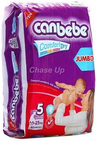 Canbebe Baby Diapers 5 Junior 52pcs