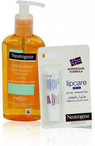 Neutrogena Visibly Clear Oil Free Daily Face Wash 200ml