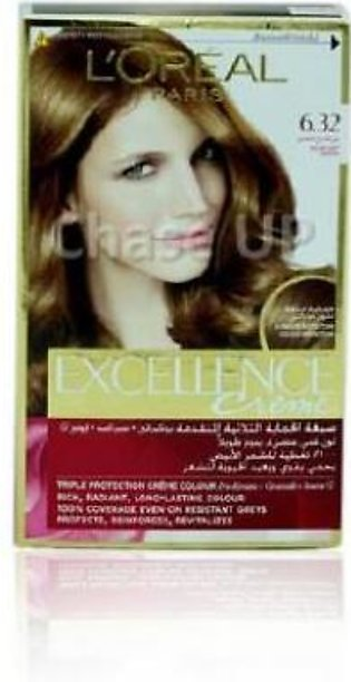 Loreal Excellence Creame Hair Color 6.32 172ml