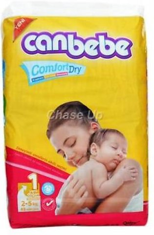 Canbebe Baby Diapers 1 New Born 48pcs