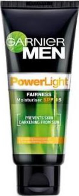 Garnier Men Power Light Intensive Face Wash 100gm (Ind)