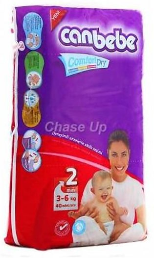 Canbebe Baby Diapers 2 Mini 40pcs