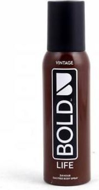 Bold Life Vintage Body Spray 120ml/100gm