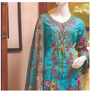 Chase Value Centre Embroidered Lawn Suit - 2A