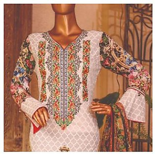 Chase Value Centre Embroidered Lawn Suit - 6A
