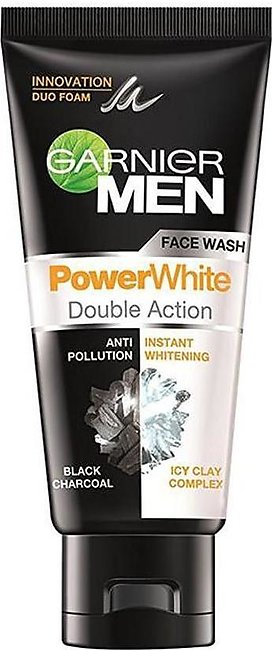 Garnier Men Power White Face Wash 50g