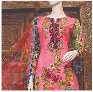 Chase Value Centre Embroidered Lawn Suit - 5B