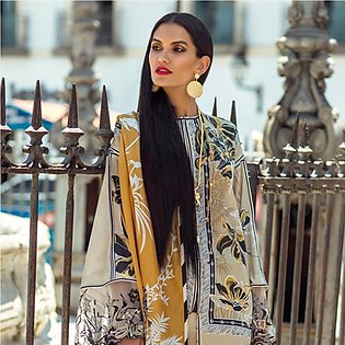 Elan Designer Embroidered Lawn Suit - 9A