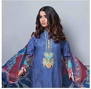 Chase Value Centre Embroidered Lawn Suit - 01