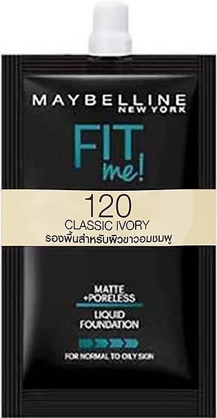 Maybelline Fit Me Liquid Foundation 5ml - 120 Classic Ivory