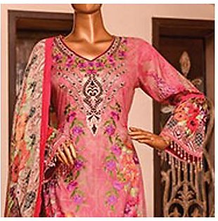 Chase Value Centre Embroidered Lawn Suit - 2B