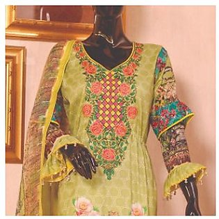 Chase Value Centre Embroidered Lawn Suit - 3B