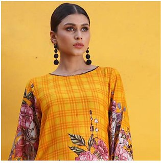 Chase Value Centre Printed Khaddar Un-Stitched Shirt - 10
