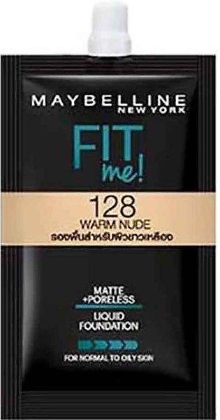 Maybelline Fit Me Liquid Foundation 5ml - 128 Warm Nude