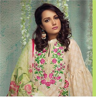 Orient Luxury Embroidered Suit-A006