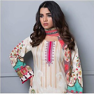 Chase Value Centre Embroidered Lawn Suit - 08