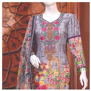 Chase Value Centre Embroidered Lawn Suit - 1A