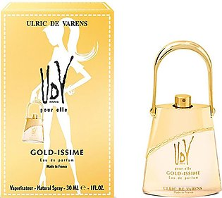 UDV Perfume Gold-Issime For Women 75 ML