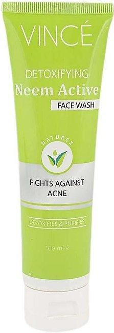Vince Detoxifying Neem Active Face Wash