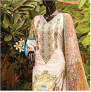 Chase Value Centre Embroidered Lawn Suit - 6B