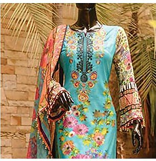 Chase Value Centre Embroidered Lawn Suit - 5A