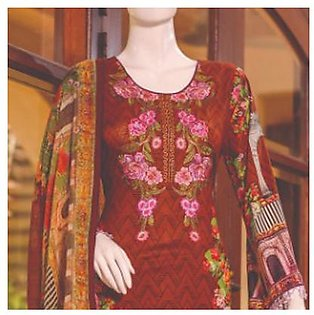Chase Value Centre Embroidered Lawn Suit - 4A