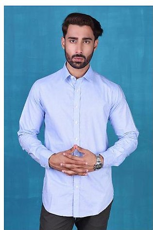 SHIRT FORMAL GTS-3671-B BLUE