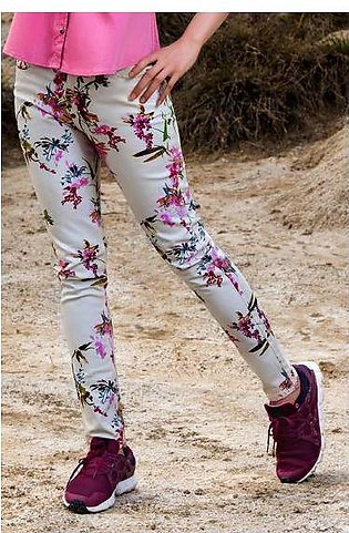 LT-918 FLORAL TROUSER PRINTED